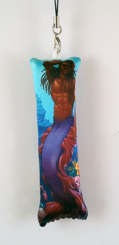 Mermen Collection - Betta Splendens Mini Dakimakura Phone Strap