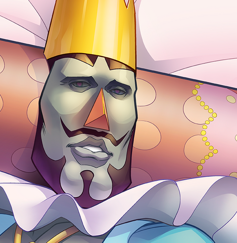 King of All Cosmos Dakimakura