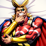 All Might All Night Dakimakura