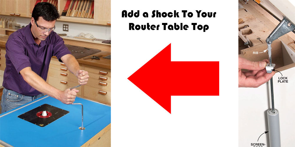 Router Table Shock Absorber