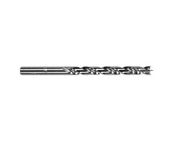 Brad-Point Drill Bits  - Regular Length (Wire Gauge #1 to #47 HSS)