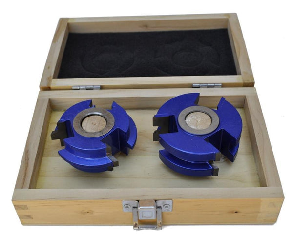 Wedge Tongue & Groove Shaper Cutters