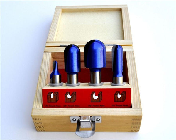 Roundnose Router Bit Set