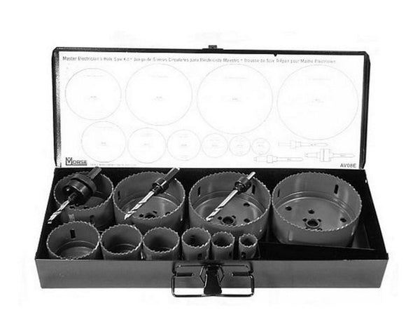 Master Electrician's Hole Saw Kit