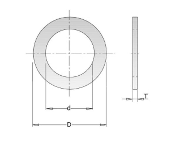 Reduction Rings for Saw Blades