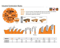Industrial PTFE-Coated Combination Saw Blades
