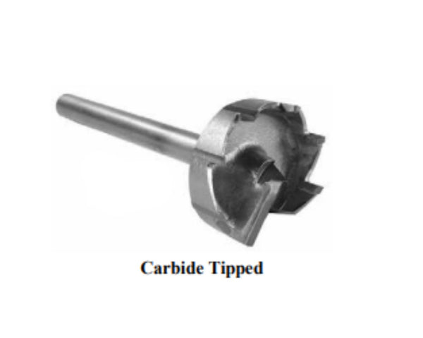 Multi-Spur Bits (carbide-tipped)