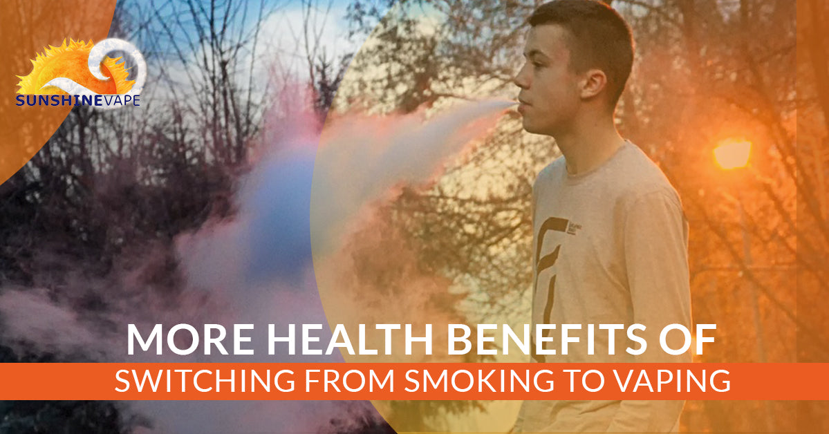 The Many Health Benefits Of Switching From Smoking To Vaping