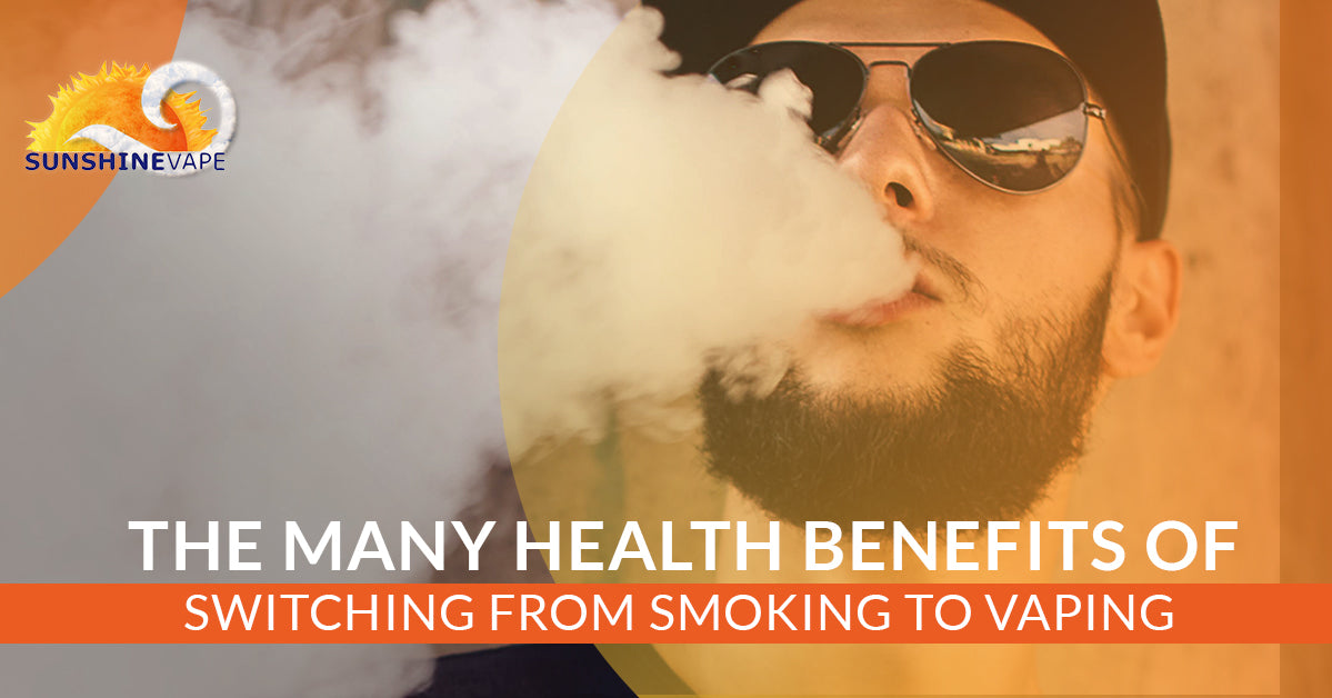 More Health Benefits Of Switching From Smoking To Vaping