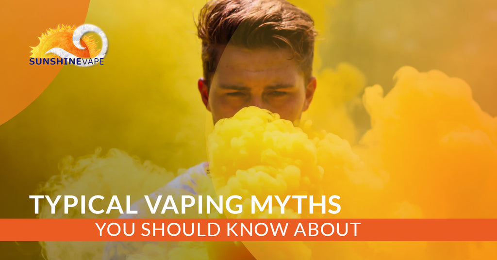 Typical Vaping Myths You Should Know About