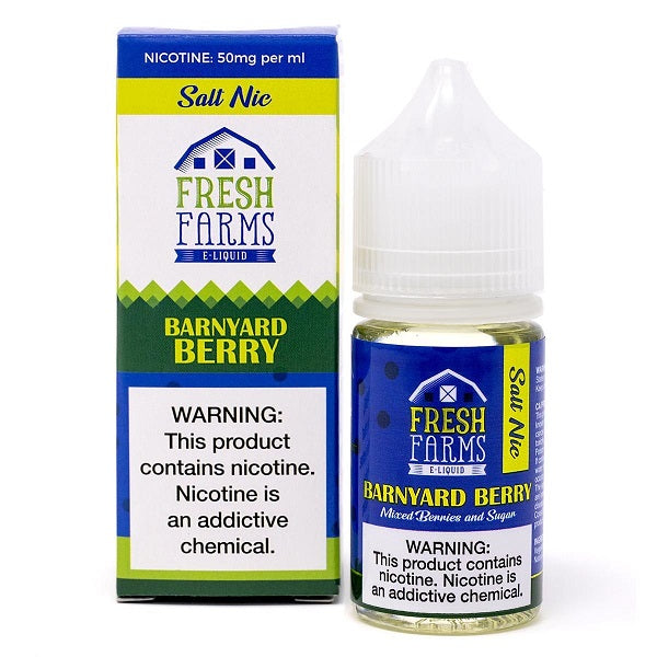 fresh farms eliquid barnyard berry salt