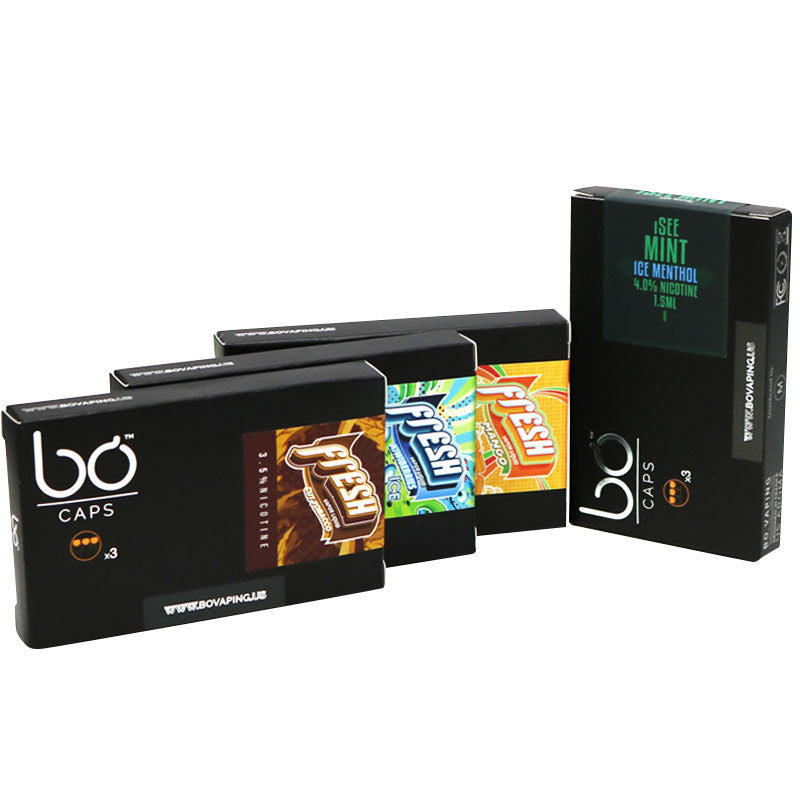 bo replacement pods tobacco kiwiberry ice mango menthol