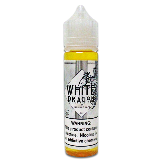 sunshine vape white dragon