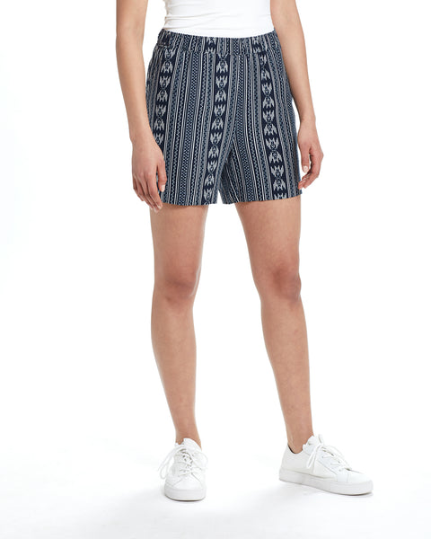 WOMEN'S SHORTS IN NAVY