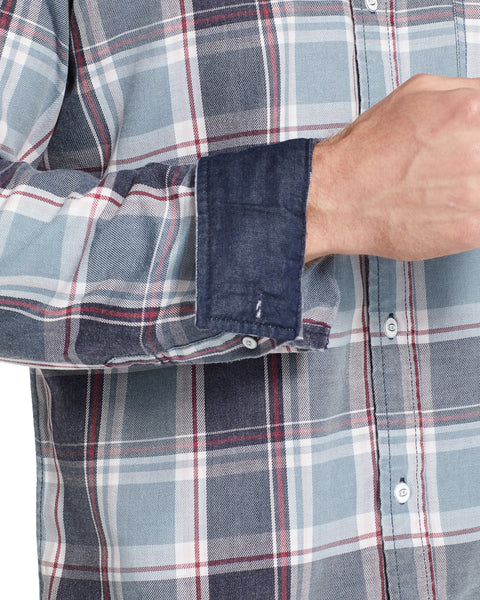 Weather Wash®  Plaid Flannel Shirt in Stone Wash