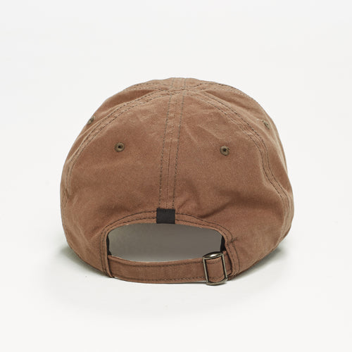 Canvas Ball Cap in Brown