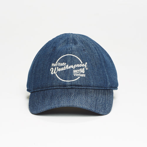 Sherpa Lined Ball Cap in Indigo