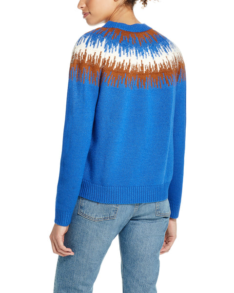 Glacial Ski Sweater in True Blue