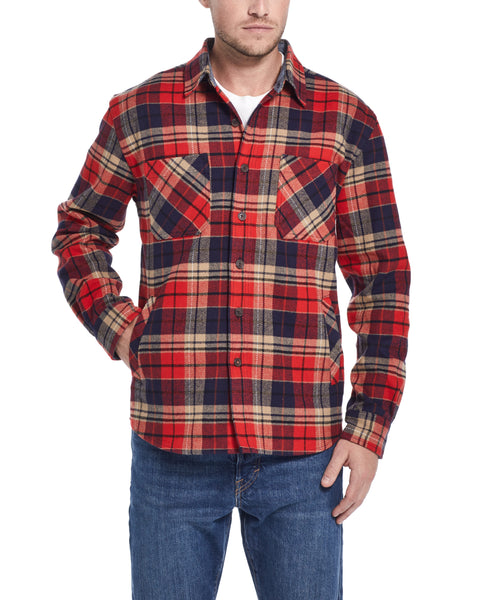 Mountain Twill Flannel in Chili