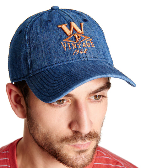 Dark Denim Cap