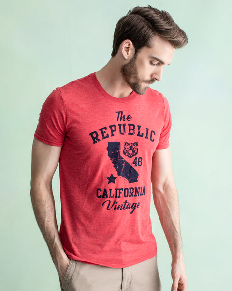 REPUBLIC CALIFORNIA TEE RED