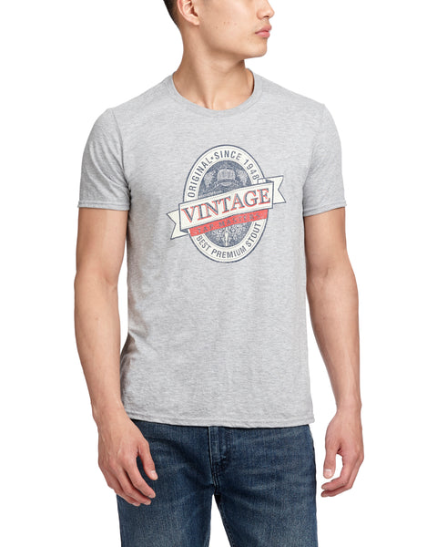 TAP MASTERS TEE HEATHER GREY