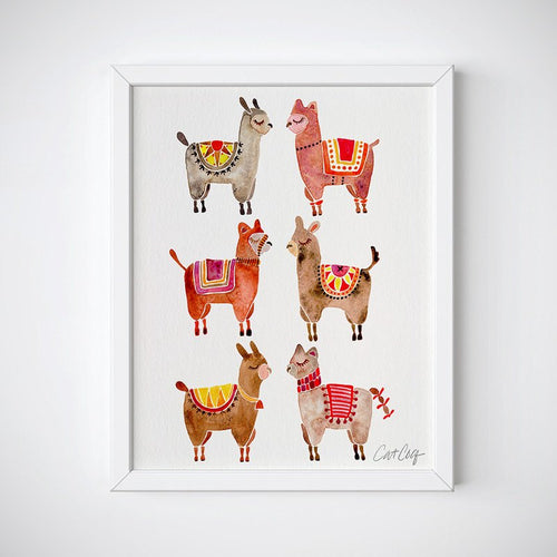 Alpacas Wall Art - Instant Download
