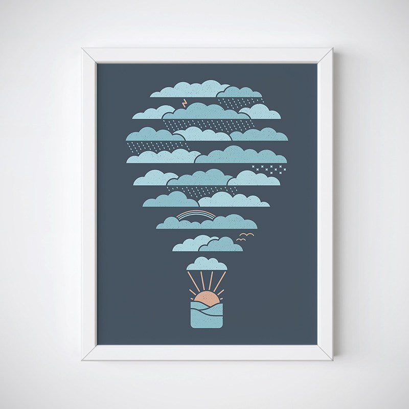 Weather Balloon Wall Art