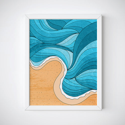 Beach Tide Wall Art