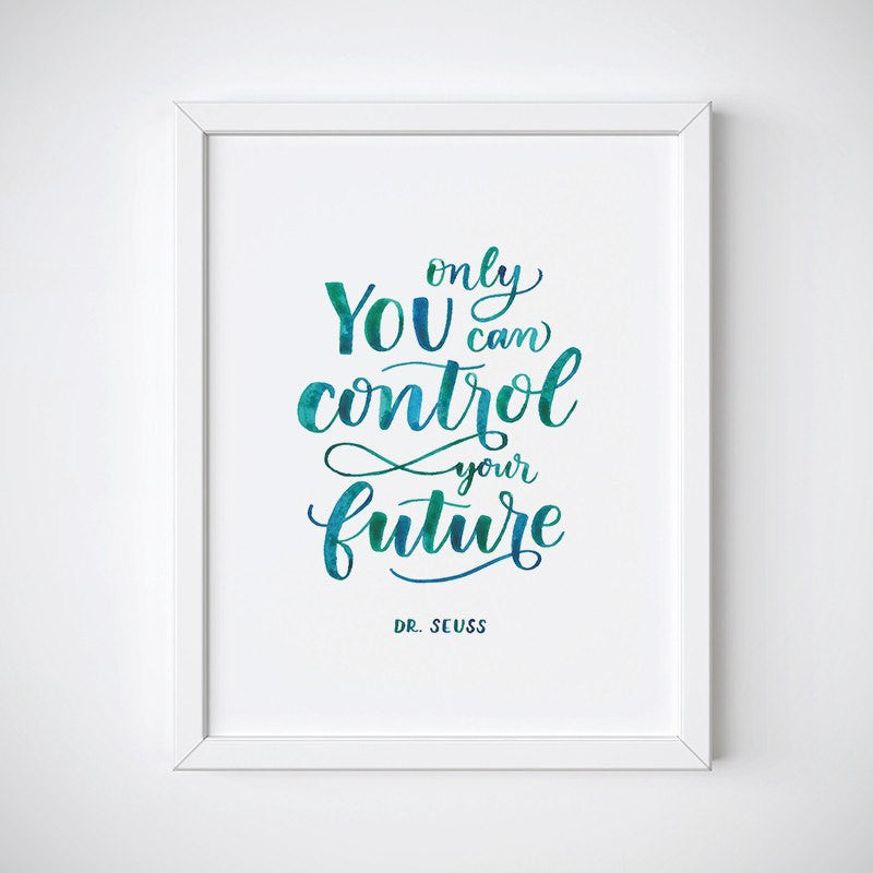 Control Your Future Wall Art