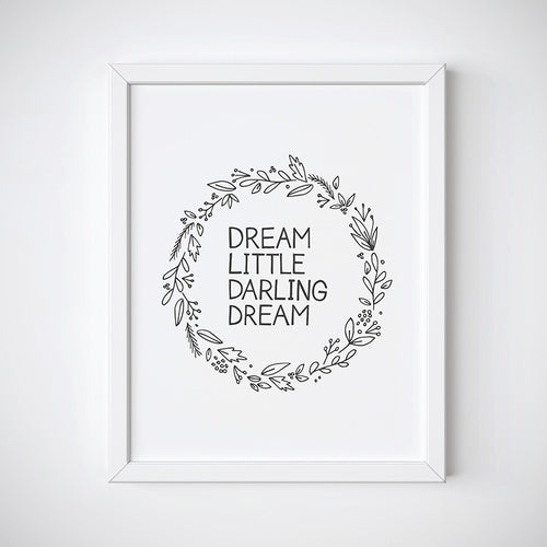 Dream Little Darling Wall Art
