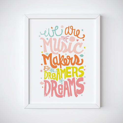 Music Makers Wall Art