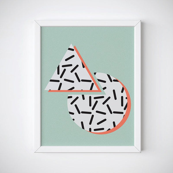 Tricircle Wall Art