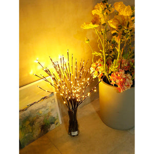 1pc LED Wrapped Lighted Branch - Whispering Winds by The OutCo.