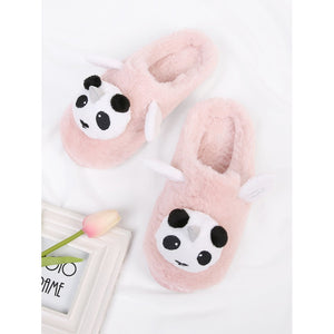 Panda Design Flat Slippers - Whispering Winds by The OutCo.