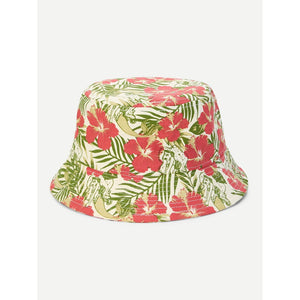 Flower Print Bucket Hat - Whispering Winds by The OutCo.