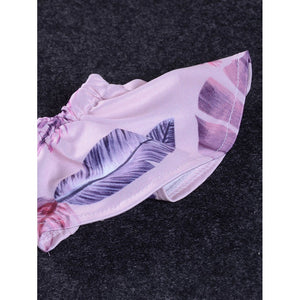 Girls Feather Print Top With Pants - Whispering Winds by The OutCo.