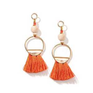 Sunset Tassel Earrings - Whispering Winds by The OutCo.