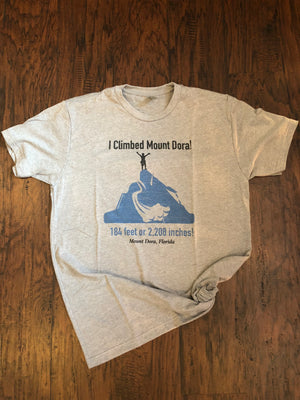 Men's I Climbed Mount Dora T-Shirt - Whispering Winds by The OutCo.