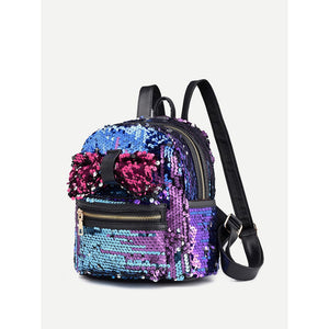 Sequin Decor Backpack - Whispering Winds by The OutCo.