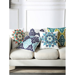 Flower & Embriodery Print Pillowcase Cover 1PC - Whispering Winds by The OutCo.