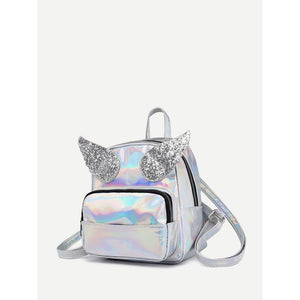 Angel Wings Decor Backpack - Whispering Winds by The OutCo.