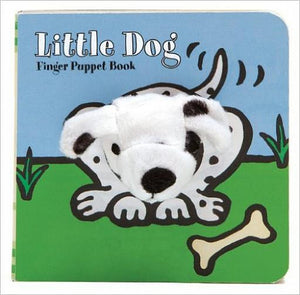 Little Dog Finger Puppet Book - Whispering Winds by The OutCo.