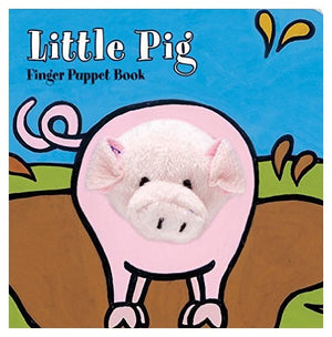 Little Pig Finger Puppet Books - Whispering Winds by The OutCo.