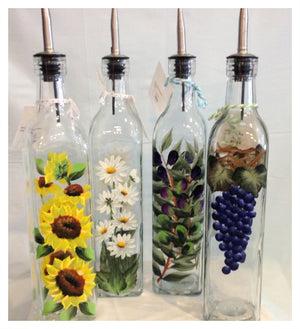 Olive Oil Bottles - Whispering Winds by The OutCo.