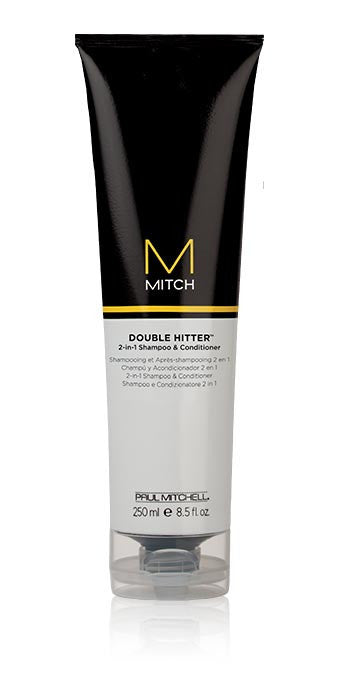 MITCH DOUBLE HITTER 2-IN-1 SHAMPOO AND CONDITIONER 8.5 OZ