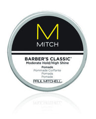 Paul Mitchell Barber's Classic Moderate Hold/High Shine Pomade 3 oz