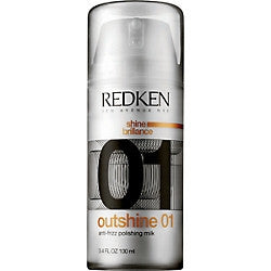 Redken OutShine Anti-Frizz Polishing Milk 3.4 oz