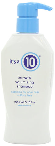 It's a 10 Miracle Volumizing Shampoo 10 oz