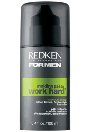Redken Mens Work Hard Molding Paste 3.4oz